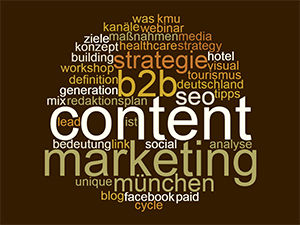 Content Marketing Definition mit Studio 9