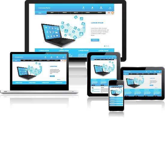 mehrere Bildschirme Responsive Design